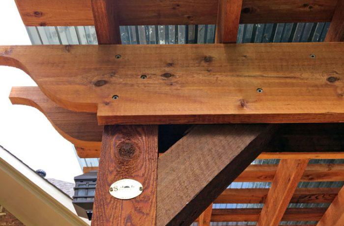 Standard Bracing: Cedar Tone