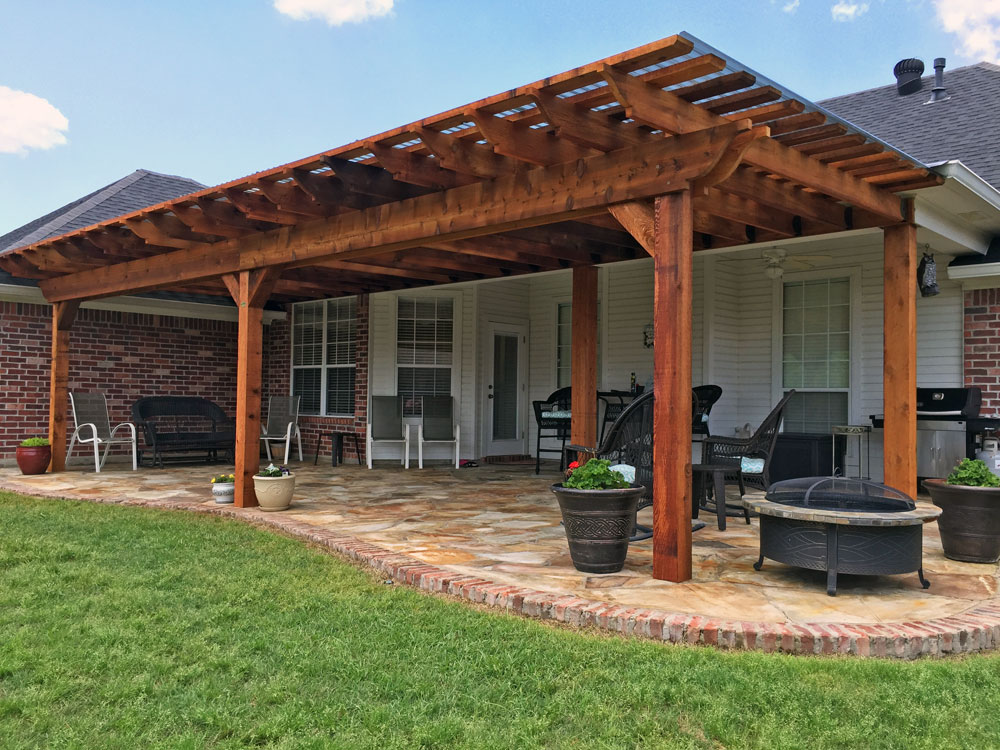 8 X 10 Pergola Outdoor Goods