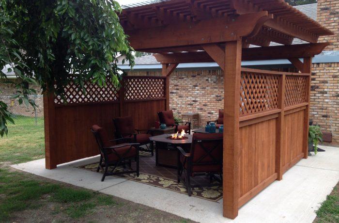 Freestanding: Cedar Tone