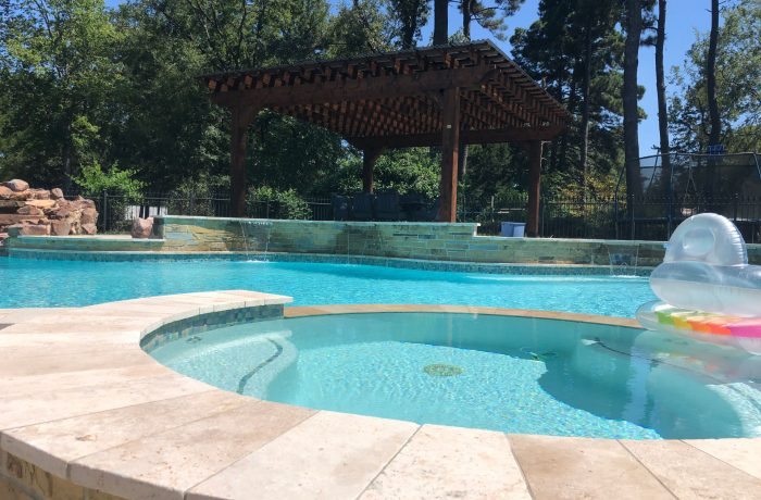 Enjoy Your Pergola Kit by Pool